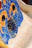 O mosaico artístico no parque Quell Imagens de Stock Royalty Free
