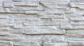 O mosaico de pedra velho feito do arenito é coberto com o cal Fotos de Stock