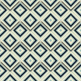 O mosaico geométrico do sumário sem emenda do teste padrão telhou o vetor do fundo Imagem de Stock Royalty Free