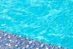 O mosaico na borda da associação Fundo do verão verão Fotos de Stock