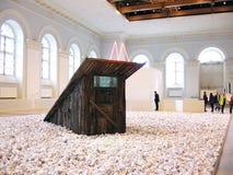 5o Moscovo Bienal da arte contemporânea Imagens de Stock