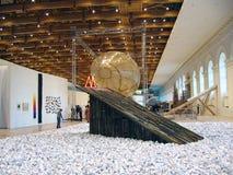 5o Moscovo Bienal da arte contemporânea Imagem de Stock