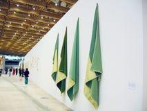 5o Moscovo Bienal da arte contemporânea Imagens de Stock Royalty Free