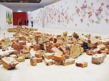 5o Moscovo Bienal da arte contemporânea Imagem de Stock Royalty Free