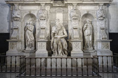 O Moses por Michelangelo Fotografia de Stock