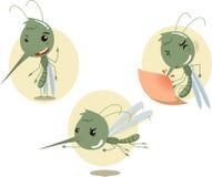 O mosquito ajustou 1 Imagem de Stock Royalty Free