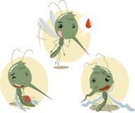 O mosquito ajustou 2 Imagem de Stock Royalty Free