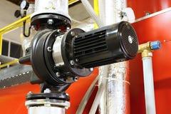 O motor com a bomba Fotografia de Stock