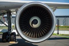 O motor de Turbofan dos aviões para simula da gravidade zero dos efeitos - Airbus A310 ZERO-G Imagem de Stock