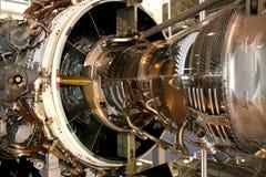 O motor do avião Fotos de Stock