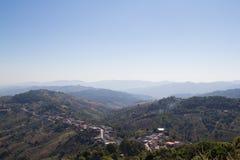 O Mountain View em Chiang Rai, Tailândia Imagens de Stock Royalty Free