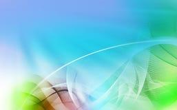 O movimento alinha colorido Fotografia de Stock