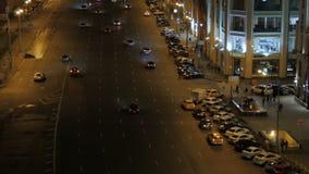 O movimento dos carros na noite filme