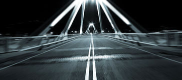 O movimento jejua na ponte Foto de Stock