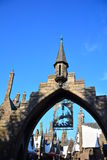 O mundo de Wizarding de Harry Potter no estúdio universal, Osaka Imagem de Stock Royalty Free