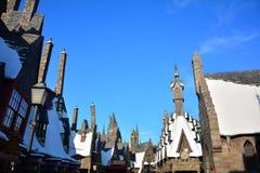 O mundo de Wizarding de Harry Potter no estúdio universal, Osaka Fotos de Stock Royalty Free
