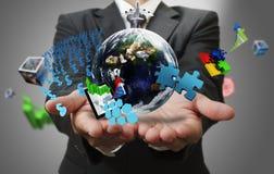o mundo do negócio como o conceito Fotografia de Stock