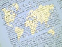 O mundo dos computadores Fotografia de Stock Royalty Free