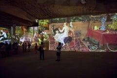 O mundo fantástico e maravilhoso de Bosch, de Brueghel e de Arcimboldo Fotos de Stock
