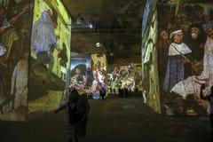 O mundo fantástico e maravilhoso de Bosch, de Brueghel e de Arcimboldo Foto de Stock
