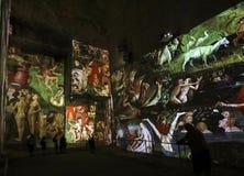 O mundo fantástico e maravilhoso de Bosch, de Brueghel e de Arcimboldo Imagens de Stock