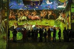 O mundo fantástico e maravilhoso de Bosch, de Brueghel e de Arcimboldo Imagem de Stock Royalty Free