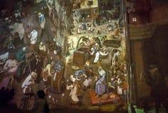 O mundo fantástico e maravilhoso de Bosch, de Brueghel e de Arcimboldo Imagens de Stock Royalty Free