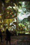 O mundo fantástico e maravilhoso de Bosch, de Brueghel e de Arcimboldo Fotografia de Stock Royalty Free