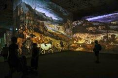 O mundo fantástico e maravilhoso de Bosch, de Brueghel e de Arcimboldo Fotografia de Stock