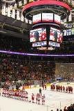 O mundo 2015 Junior Hockey Championships, Air Canada centra-se imagem de stock royalty free