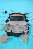 O muro de Berlim Imagem de Stock Royalty Free