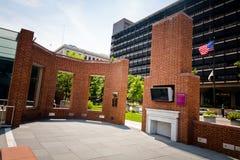 O museu ao ar livre da casa de Presidentâs em Philly Fotos de Stock
