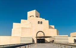 O museu da arte islâmica em Doha, Qatar Fotos de Stock