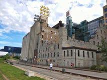 O museu da cidade do moinho Imagens de Stock Royalty Free
