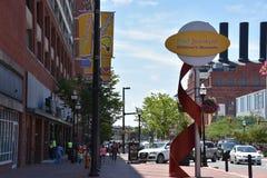 O museu das crianças da descoberta do porto em Baltimore, Maryland fotos de stock royalty free