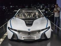 O museu de BMW em Munich, Alemanha imagens de stock