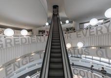 O museu de BMW em Munich, Alemanha foto de stock