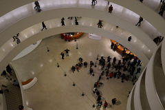 O museu de Guggenheim de New York 24 Fotos de Stock