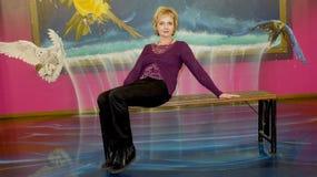 O museu de ilusões óticas Fotos de Stock Royalty Free