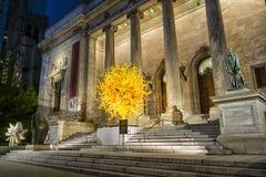 O museu de Montreal de belas artes MMFA fotografia de stock royalty free