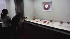 O museu de palácio nacional em Taiwan video estoque