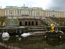 O museu de Peterhof Fotos de Stock