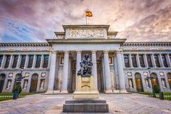 O museu de Prado imagens de stock
