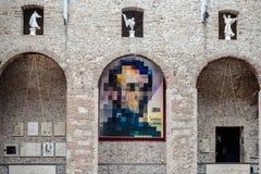 O museu de Salvador Dali em Figueres; Espanha fotos de stock royalty free
