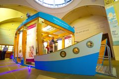 O museu do Banco da Inglaterra imagem de stock