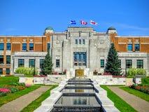 O museu do sentido do espaço do terreno de Canadá Foto de Stock