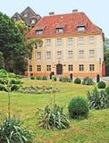 O museu em Ostrow Tumski Foto de Stock