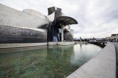 O museu Guggenheim Bilbao Foto de Stock Royalty Free