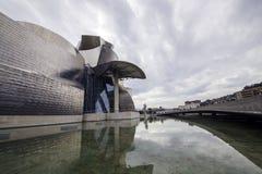 O museu Guggenheim Bilbao Imagens de Stock