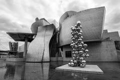 O museu Guggenheim Bilbao Imagens de Stock Royalty Free